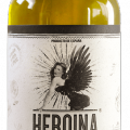 Botella de aceite de oliva virgen extra Heroína, diseño gráfico y branding realizado por Garaje Gráfico